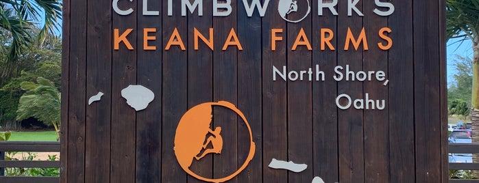 CLIMB Works Keana Farms is one of Around the Globe.