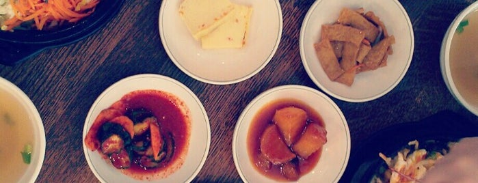 Han Mi Jung Korean Diner is one of Houston spots pt. 2.