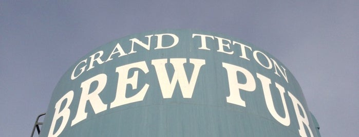 Grand Teton Brewing Company is one of Breweries.