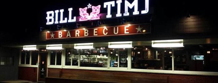 Bill & Tim's Barbecue is one of Places to Eat: Eugene-Springfield.