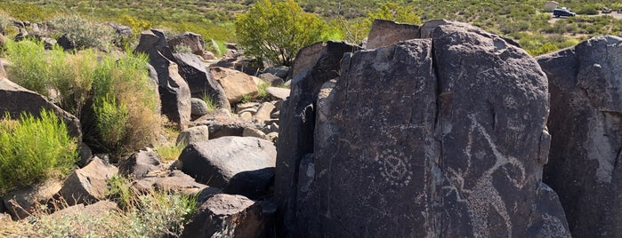 Three Rivers Petroglyphs is one of New Mexico.
