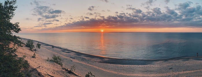 12 Mile Beach Campground is one of Michigan.