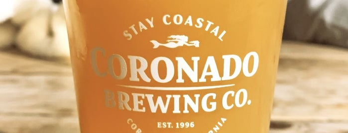 Coronado Brewing Company is one of Coronado Island (etc).