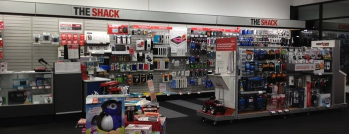 RadioShack is one of Locais salvos de Jenny.