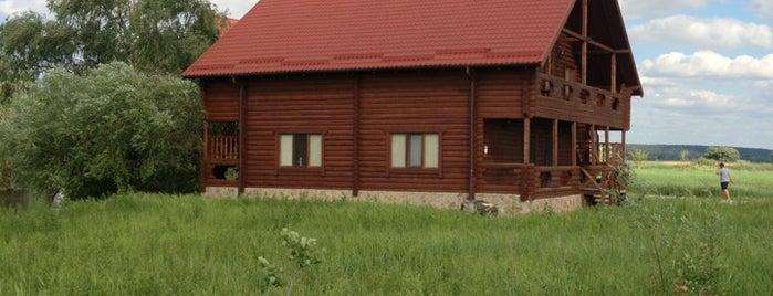 """Гостинично-развлекательный комплекс """"Ферма"""" is one of загород."""