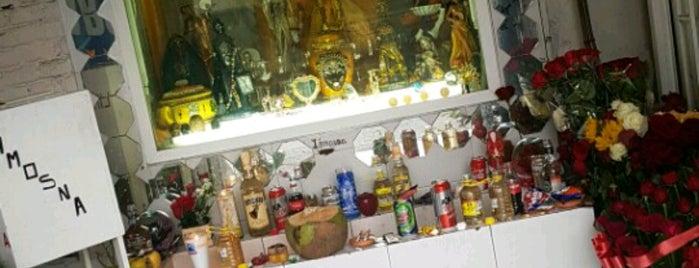 Templo Nacional De La Santa Muerte is one of Tempat yang Disimpan Dabidson.