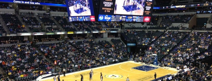 Bankers Life Fieldhouse is one of Big Ten Men's Basketball Arenas.