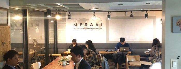 Meraki is one of South Korea.