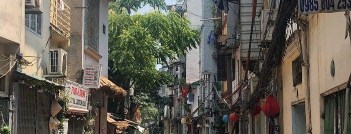 Train Street is one of Hanoi.