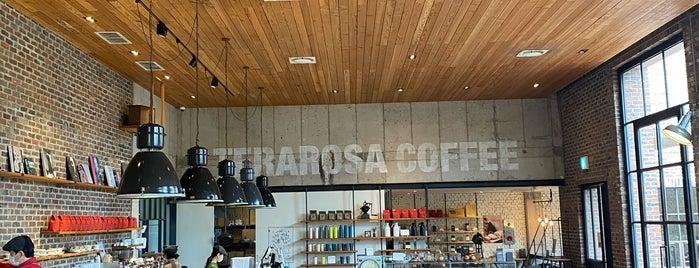 Terarosa Coffee is one of 제주.