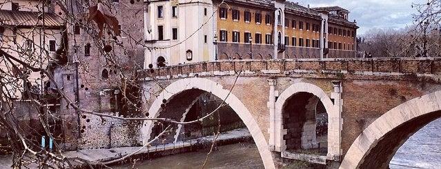 Isola Tiberina is one of ROME.