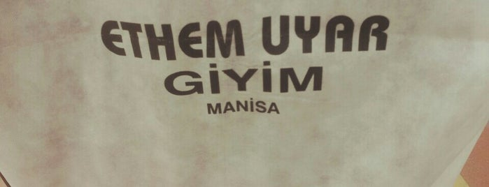 ethem uyar moda is one of Nilüfer Halilさんのお気に入りスポット.