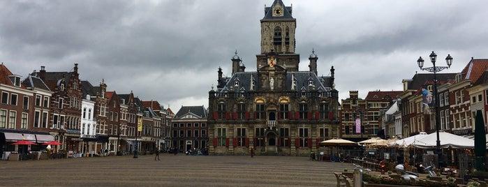 Standbeeld Hugo De Groot is one of Nizozemí.
