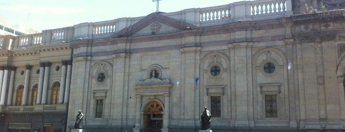 Parroquia El Sagrario is one of Lugares, plazas y barrios de Santiago de Chile.