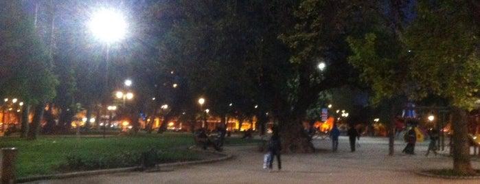 Plaza Brasil is one of Lugares, plazas y barrios de Santiago de Chile.