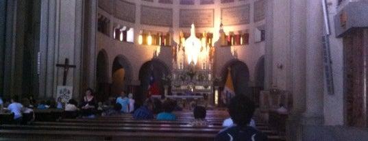 Basílica Lourdes is one of Lugares, plazas y barrios de Santiago de Chile.