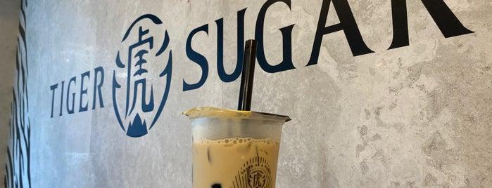 Tiger Sugar is one of Deva boba.