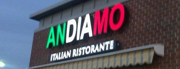 Andiamo Italian Ristorante is one of Seanさんの保存済みスポット.