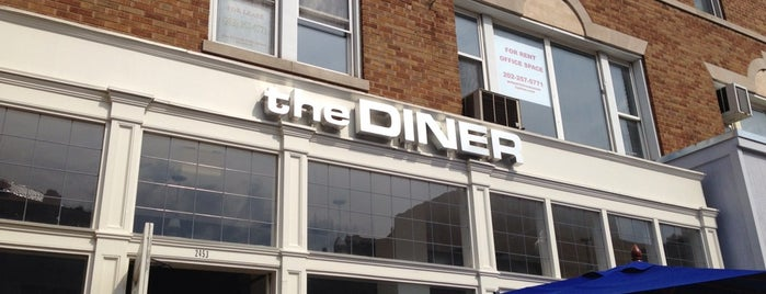 The Diner is one of DC Brunch Spots.