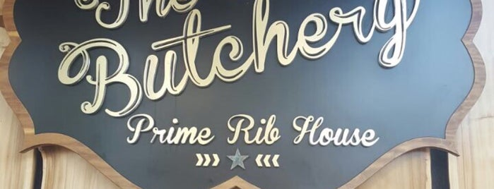 The Butchery (Prime Rib House) is one of Lugares guardados de Ana.