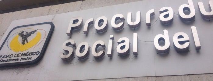Procuraduria Social del DF is one of Leonardo : понравившиеся места.
