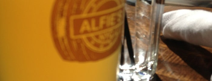 Alfie's Bar & Kitchen is one of Food, crafbeer & more in NYC.