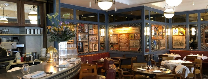 The Ivy Café Marylebone is one of London.