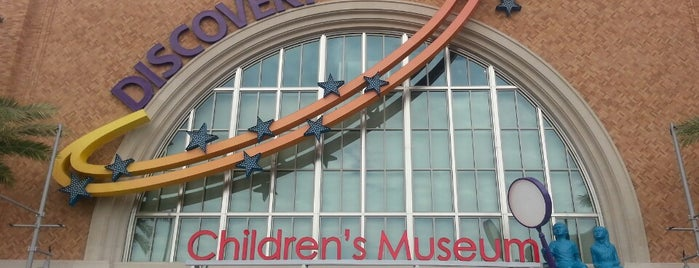 Discovery Children's Museum is one of Ricardo 님이 좋아한 장소.
