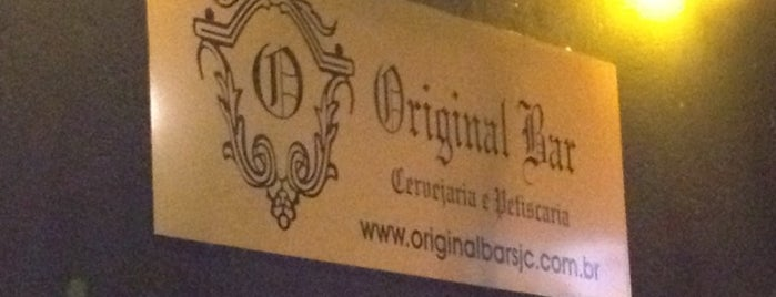Original Bar is one of Bares, Petiscos e Diversão em SJC.