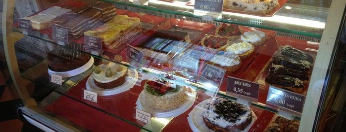 GUSTAVbeķereja is one of Riga Foodie.