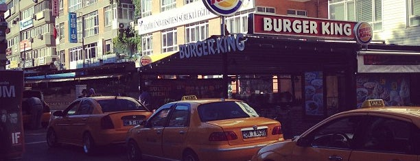 Burger King is one of Orte, die Merve gefallen.