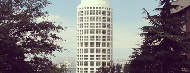 Sheraton Ankara Hotel & Convention Center is one of สถานที่ที่ Sibel ถูกใจ.