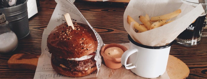 Burger Club is one of Want to Try.
