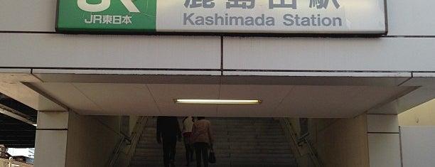 Kashimada Station is one of JR 미나미간토지방역 (JR 南関東地方の駅).