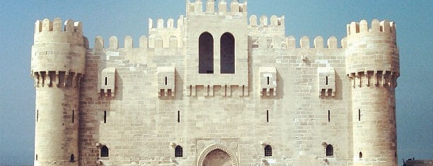 Citadel of Qaitbay is one of Locais salvos de Irina.