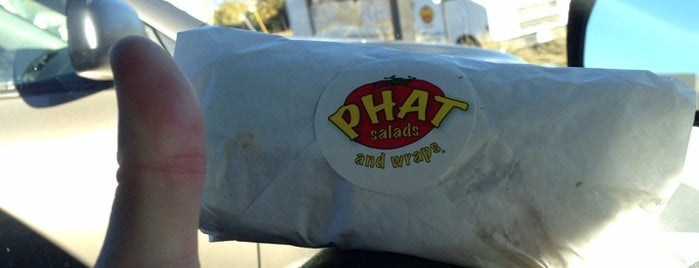 Phat Salads and Wraps is one of Posti che sono piaciuti a Harris.