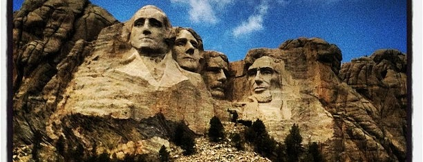 Mount Rushmore National Memorial is one of The Great American Road Trip.