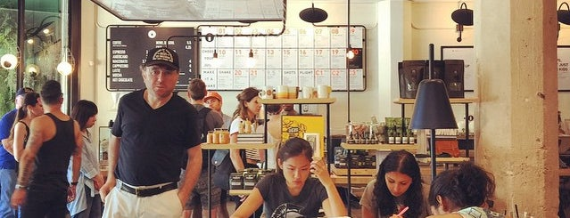 Verve Coffee is one of Los Angeles.