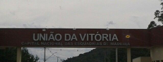 União da Vitória is one of Káren'in Beğendiği Mekanlar.