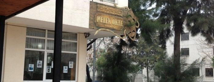 İzmir Devlet Tiyatrosu Melek Ökte Sahnesi is one of spor+dans+kultur.