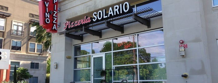 Pizzeria Solario is one of Eat Houston.