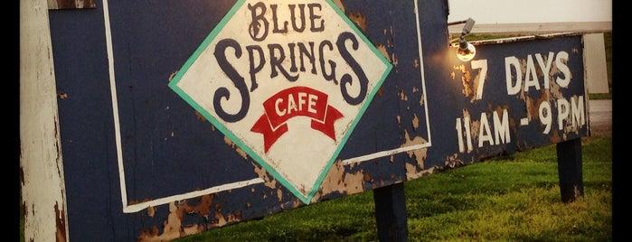 Blue Springs Cafe is one of Lieux sauvegardés par Christopher.
