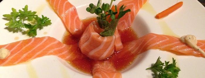 Sushi Raku is one of Orte, die Hamilton gefallen.