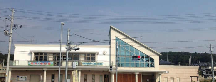 Nobiru Station is one of JR 미나미토호쿠지방역 (JR 南東北地方の駅).