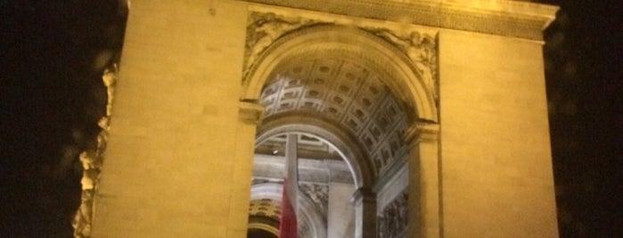 Arc de Triomphe de l'Étoile is one of Lieux qui ont plu à ATL_Hunter.