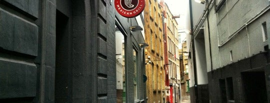 Chipotle Mexican Grill is one of London.