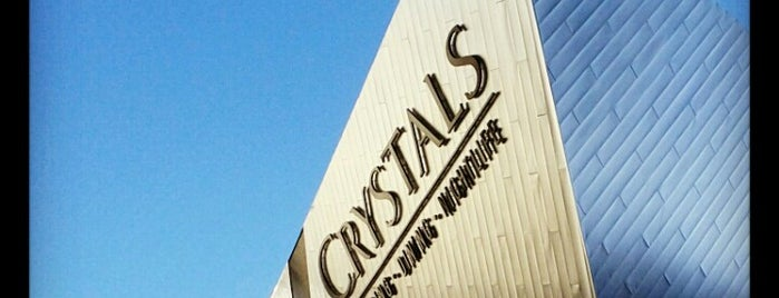 The Shops at Crystals is one of Locais curtidos por Carlos.