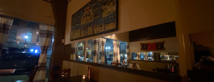 Hawi Ethiopian Restaurant is one of ben: сохраненные места.