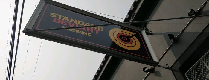 Standard Deviant Brewing is one of Bars to try.