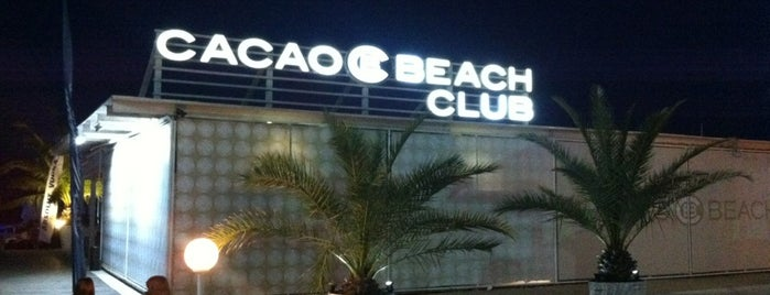 Cacao Beach Club is one of DJ Mag Top 100 Club (2014).